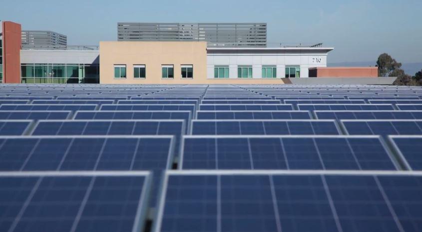 kaiser solar array