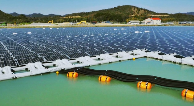 kyocera floating solar