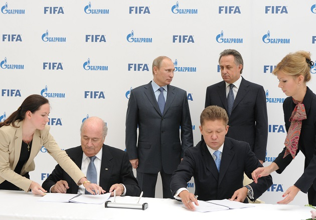 Energy Quote of the Day: Gazprom Brushes Aside FIFA Scandal