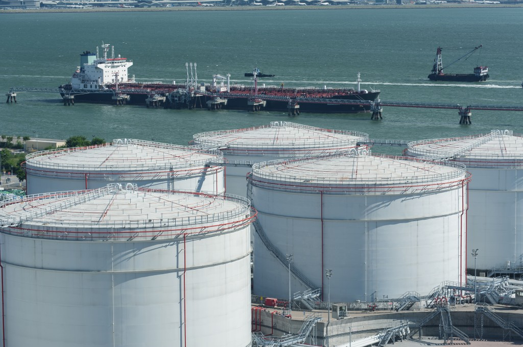 oil tanker and storage