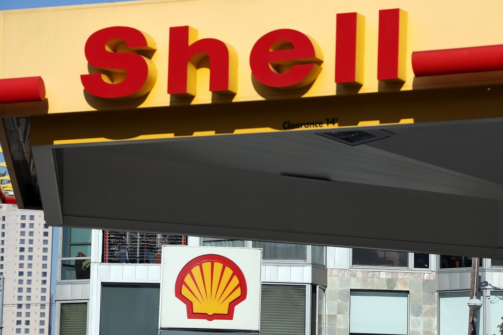 SAN FRANCISCO, CA - OCTOBER 31:  A sign is posted at a Shell gas station on October 31, 2013 in San Francisco, California.  Royal Dutch Shell reported a 32% decline in third quarter profits with earnings of $4.5 billion compared to $6.5 billion one year ago.  (Photo by Justin Sullivan/Getty Images)