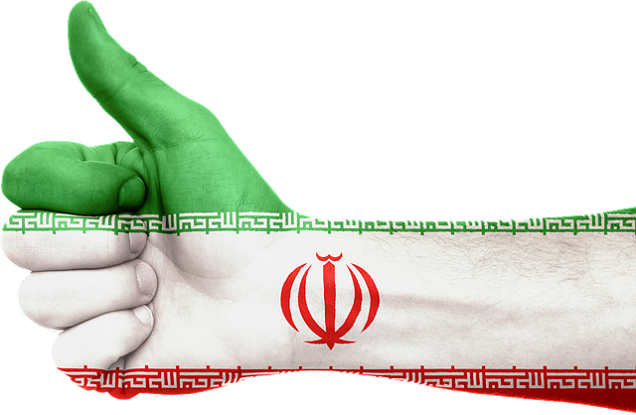 Iran Thumbs up